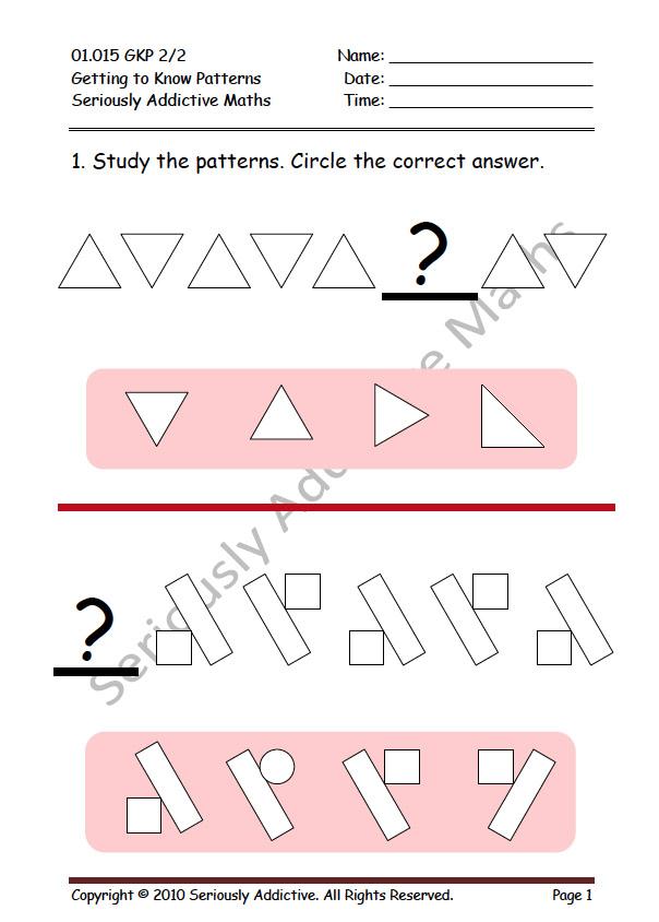 Worksheet Experience Seriously Addictive Mathematics
