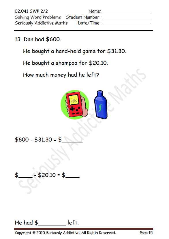 image about Chain Reaction Word Game Printable called Worksheet Practical experience - Actually Addictive Arithmetic