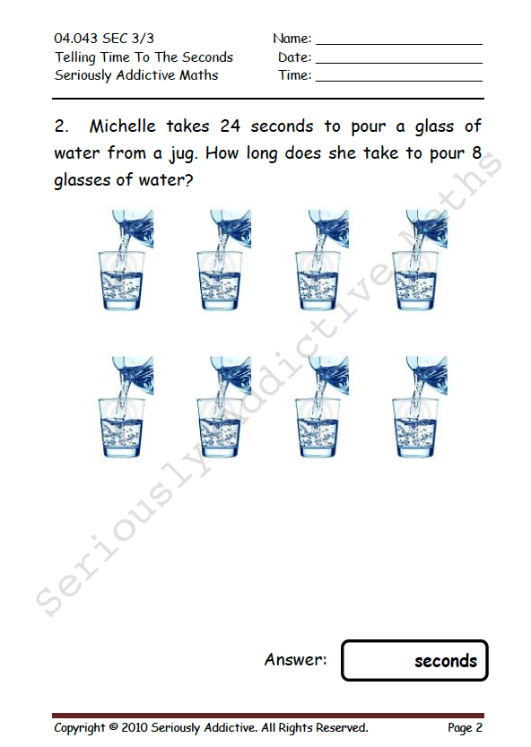 Worksheet Experience Seriously Addictive Mathematics. The Worksheet Experience Engages Each Student Individually In Their Own Designated Time For Study At Home This Regime Instills Self Discipline And. Worksheet. 26 L Of The A Worksheet At Clickcart.co